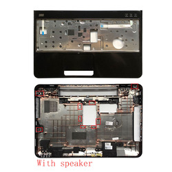 Laptop cover for DELL Inspiron 15R N5110 M5110 39D-00ZD-A00 Bottom Case Cover With speaker/Without speaker&Palmrest upper cover