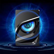 佐田 altavoz bluetooth V 128 デスクトップミニ USB 2.1 サブウーファーアップグレードコンピュータスピーカー携帯電話ノートブック小さなステレオ
