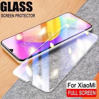 2pcs lot Full Screen Tempered Glass For Xiaomi Mi 9 8 Anti Blu ray Screen Protector