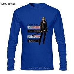 Emma Swan sauveur t-shirts t-shirts hauts à manches longues OuatOnce il était une fois la reine du cygne Jennifer Morrison décontracté