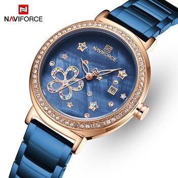שעון אופנתי לאשה מבית NAVIFORCE  1
