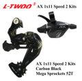 LTWOO Groupset LTWOO AX 1X11 Speed Groupset рычаг переключения передач задний переключатель для MTB горный велосипед кассета 11-42T 46T 50T 11-52T