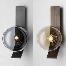 Современная роскошная настенная лампа для гостиной цветная стеклянная