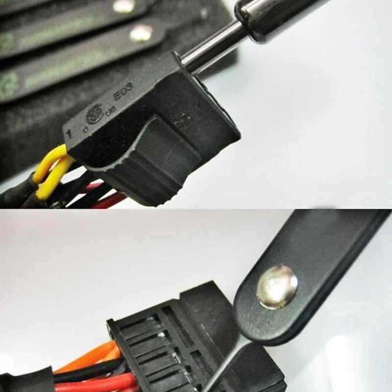 4 قطعة/المجموعة PSU وزارة الدفاع/الذكية ATX/EPS/PCI-E/موليكس/SATA كامل دبوس أداة إزالة الصواميل عدة ل جهاز كمبيوتر شخصي موصلات/المقابس