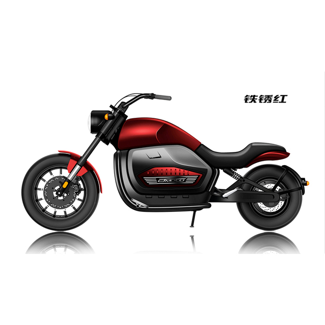 New Design 2000w 3000w 60v 20ah/30ah Electric Scooters Adults Big Wheel Motorcycle Citycoco Eletric Scooter Battery Motorcycles 5