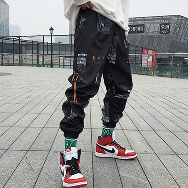 Loose Street-wear Harem Pants 2
