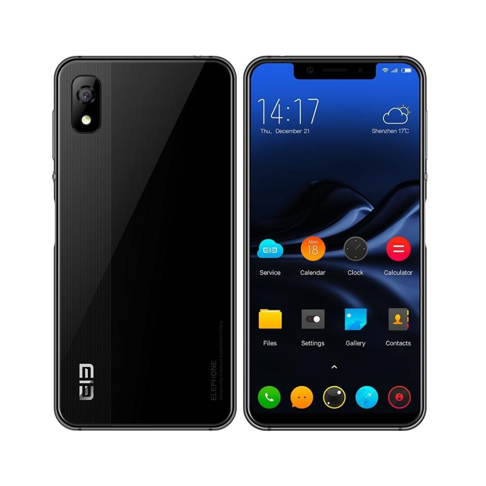 Elephone A4 Pro 4G LTE Android 8.1 Smart Cellphone Dual SIM Cards 4GB+64GB MTK6763 Octa-Core 5.85 Inch 1512*720 Pixels IPS Wifi
