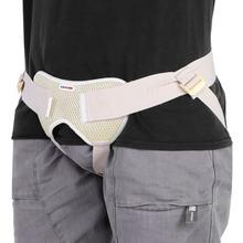 Nuevo cinturón para Hernia Inguinal ajustable soporte de ingle bolsa de Hernia para adultos ancianos soporte de Hernia tratamiento de Cirugía cuidado de la salud