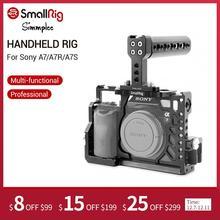 SmallRig A7/A7R/A7Sกล้อง + Handgripที่จับด้านบน + สายHDMI CLAMPอุปกรณ์เสริมสำหรับSony a7/A7R/A7Sกรง 2010