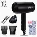YIJIA 2200 Вт Профессиональный портативный мини-фен для волос, фен для волос, профессиональная щетка, фен для путешествий