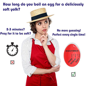 Image 4 - Kitchen Time Timer Perfect Egg Changing Color Eggtimer Resin Material Temperature Cooking Gadgets Accessories Household Tools