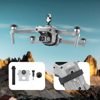 Kit de extensión de soporte de luz de relleno para cámara DJI Air 2S, se puede usar para cámaras de acción Osmo Action/ Insta360 go 2