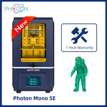 Anycubic-impresora 3d Photon Mono SE, monocromática, LCD de alta velocidad, 6,08 ', 2K, compatible con aplicación remota de Control