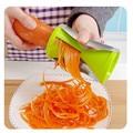 Овощерезка кухонный инструмент многофункциональная Воронка терка для овощей спиральная овощерезка Вегетарианская режущая машина ...