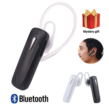 M163 Bluetooth Earphone Ear Hook Wireless Headphones Mini Ear buds Handsfree For Xiaomi Bluetooth Headset With Mic For Phone