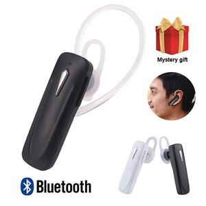 Image 1 - M163 Bluetooth Oortelefoon Oorhaak Draadloze Hoofdtelefoon Mini Oordopjes Handsfree Voor Xiaomi Bluetooth Headset Met Microfoon Voor Telefoon