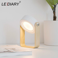 LEDIARY New Exotic Lanterns Night Light Portable Outdoor LED Lights USB Charging Bedside Desktop Multifunctional Table Lamp
