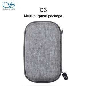 Image 2 - SHANLING C3 boîte de rangement pour lecteurs portables M0 M1 M3S M5S FIIO M5 M6 M9 M7 M3K M11 paquet multi usage Anti pression