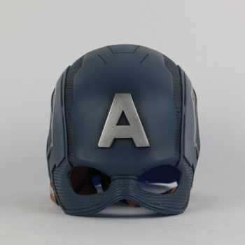 New Mask Captain America Cosplay Mask Costume Halloween Party Latex Adult Prop - DISCOUNT ITEM  10% OFF All Category