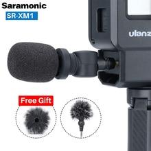 Saramonic SR XM1 GoPro Vlog konfiguracja bezprzewodowy mikrofon wideo Ulanzi V2 obudowa na zimne buty do GoPro Hero 9 8 7 6 Osmo Pocket