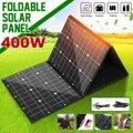 18V 400W Solar Panel Monocrystallinel Solar Zellen Folding Paket mit 1 5 m Kabel + USB Interface DC Set für Arbeiten Im Freien-in Solarzellen aus Verbraucherelektronik bei