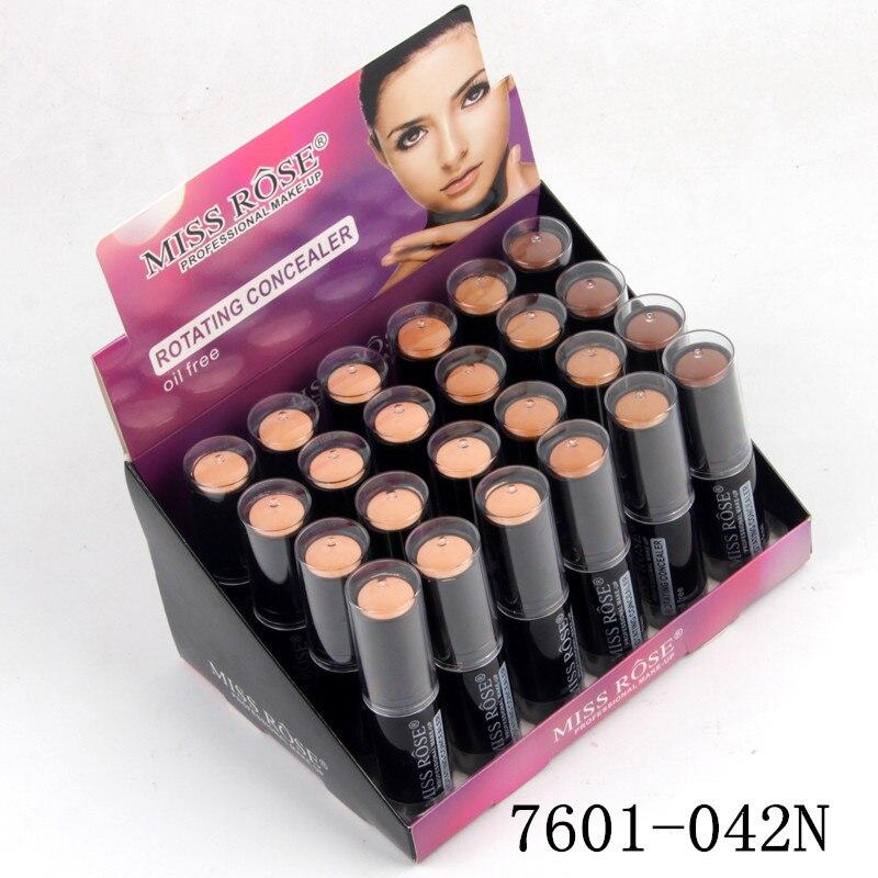 Makeup Rotating Concealer Box Face Base Perfect Covers Concealer Foundation Oil Free Waterproof Matte Wear Concealer Stick - 2