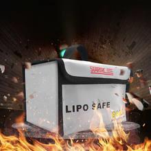 Lipo безопасная сумка, водонепроницаемая противопожарная сумка для хранения Li-po, безопасная сумка для безопасности FPV RC Drone, сумка для батареи