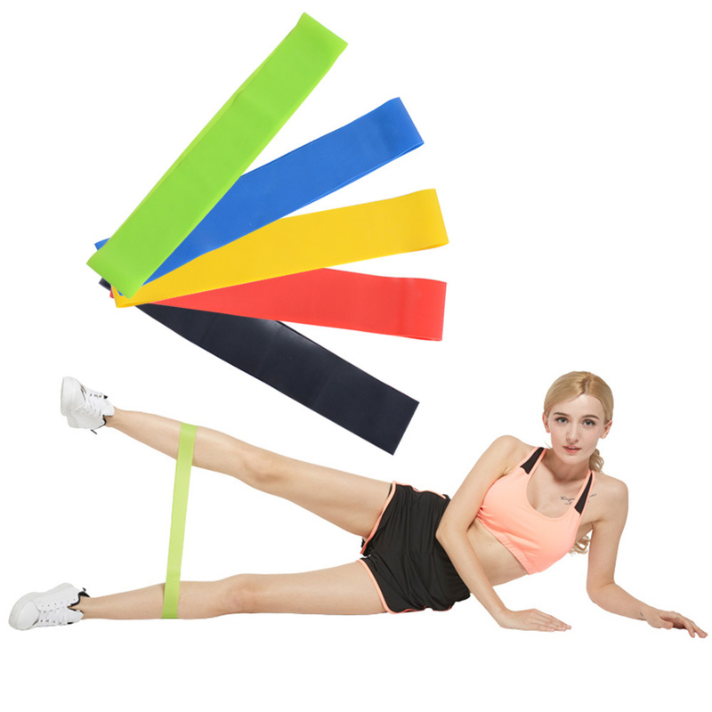 Muscle Training Resistance Band Mini Pull Ring Fitness Pull Band High Quality Wear Resistant Stretch Belt Portable And Practical