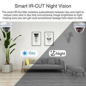 Image 4 - Techage 4CH 1080P 보안 POE NVR 카메라 시스템 2MP 오디오 사운드 IP 카메라 야외 IR 야간 감시 키트 CCTV 비디오
