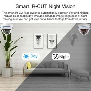 Image 4 - Techage 4CH 1080P Security POE NVR Camera System 2MP Audio Sound IP Camera Outdoor IR Night Vision Surveillance Kit CCTV Video