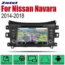 цена на ZaiXi Auto DVD Player GPS Navigation For Nissan Navara D23 / NP300 Navara 2014~2018 Car Android Multimedia System Screen Radio