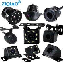 ZIQIAO tylna kamera samochodowa uniwersalna wodoodporna noktowizor HD Auto kamera cofania
