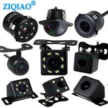 ZIQIAO سيارة عكس كاميرا الرؤية الخلفية العالمي مقاوم للماء للرؤية الليلية HD وقوف السيارات كاميرا احتياطية