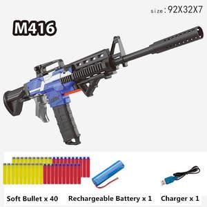 Blaster-Toy Toy Gun Dart Bullet-Gun Electric Soft M416 Children Toys Multi-Mode New Suit