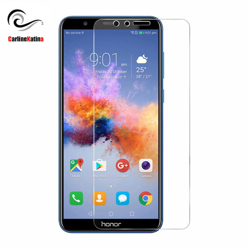 TOP 9H Tempered Glass Screen Protector For Huawei Mate Nova 2i Y6 P8 P9 P10 Lite 2016 2017 P Smart Honor 9 FRONT Film Guard Case