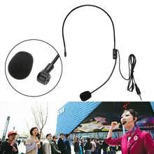 Mini Tragbare Audio Mikrofon Leichte Headset 3,5mm Jack Stecker Mic Gewinde Jack Kondensator Mikrofon PC Auto Auto DVD Radio