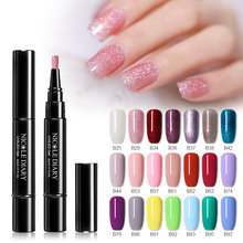 NICOLE DIARY 5Ml UV Gel Nail Polish 56 Warna Warna Kuku Satu Langkah 3 In 1 Cat Kuku Pena seni Warna Gel Matte Top Coat Rendam dari(China)