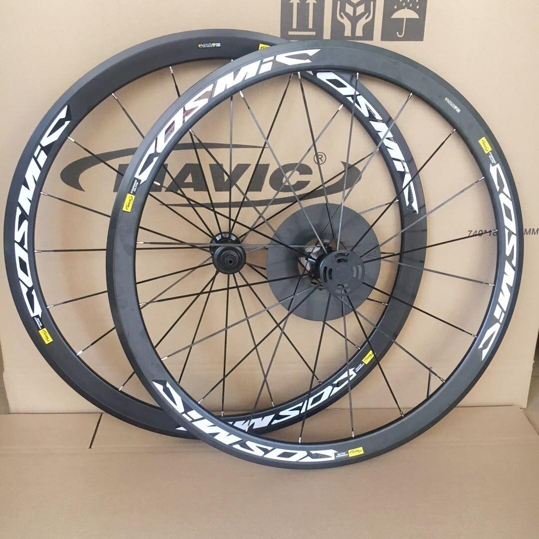 Vélo de route ultraléger V frein à disque roues S700c cosmique Elite 40mm jantes en alliage d'aluminium