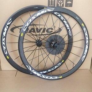 Image 1 - 초경량 도로 자전거 V 브레이크 디스크 브레이크 휠 S700c Cosmic Elite 40mm 알루미늄 합금 자전거 wheelset Rims
