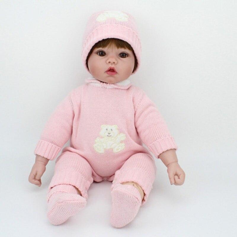 NPK Lol poupées Surprise jouets pour filles enfants bébé poupée jouets Silicone poupées renaître bébé Silicone Inteiro corps entier Bjd