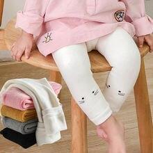 Детские леггинсы на осень и зиму утепленные мягкие теплые брюки