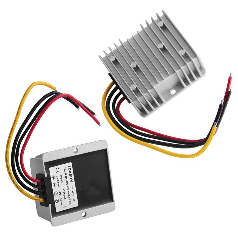 Dc Buck Converter 20 Amp 48V 36V Voltage Reducer Regulator 28 / 48V-12V Current Converter Step-down Power Supply 24V To 12V