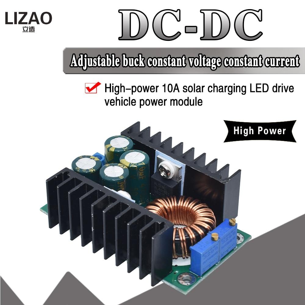 DIY электрический блок высокого качества, преобразователь CV C CC, понижающий преобразователь, понижающий модуль питания 7-32 В до 0,8-28 в 12A 300 Вт ...