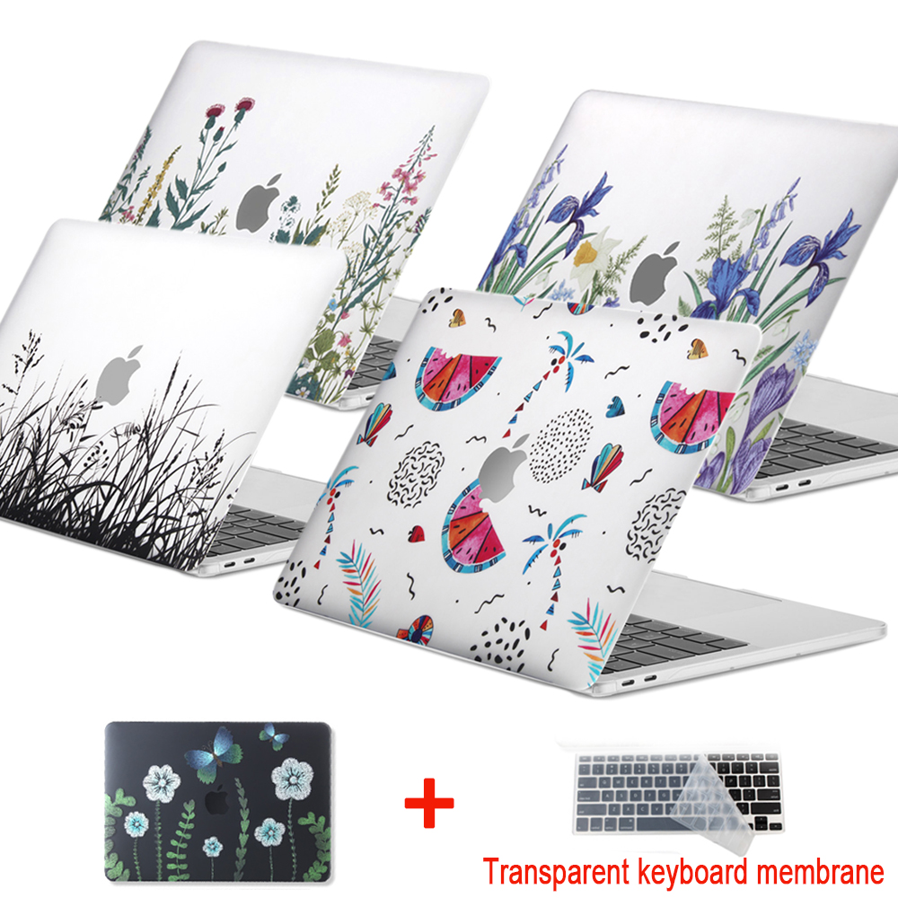 New 3D Print Creative Laptop <font><b>Case</b></font> For <font><b>MacBook</b></font> <font><b>Air</b></font> Pro Retina 11 12 <font><b>13</b></font> 15 inch with Touch Bar , <font><b>Case</b></font> +<font><b>Transparent</b></font> Keyboard Cover image