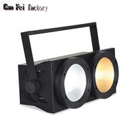 DMX wash cob 2x100w LED Warm White 200W Led Audience Blinder DMX LED COB 100W LED PAR good for stage lighting