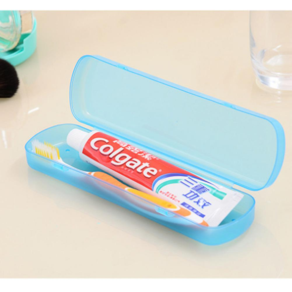 Breathable Candy Color Toothbrush Box Bacteria Control Large Storage Container For Travel