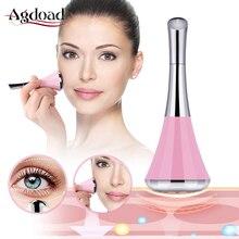2 в 1 Микротоковая Вибрация глаз и массажер для кожи лица Уход Инструменты красота устройство для ухода за лицом для подтяжки кожи