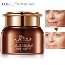 [Normalen lieferung] FONCE Gesicht Creme Anti Aging Feuchtigkeitscreme Sechs Peptid Serum Falten entferner Lifting Straffende nacht creme 50g