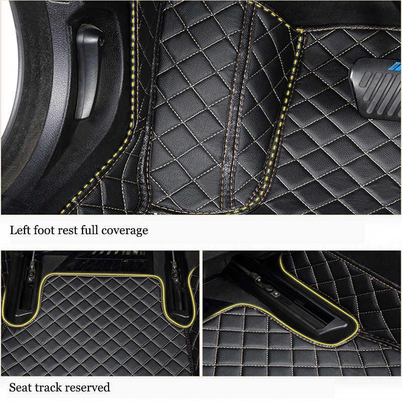 מותאם אישית 5 מושב רכב רצפת מחצלות עבור קאיה ריו 3 sportage ceed נשמת אופטימה סורנטו נירו סטינגר סורנטו כל מודלים מחצלות מכונית