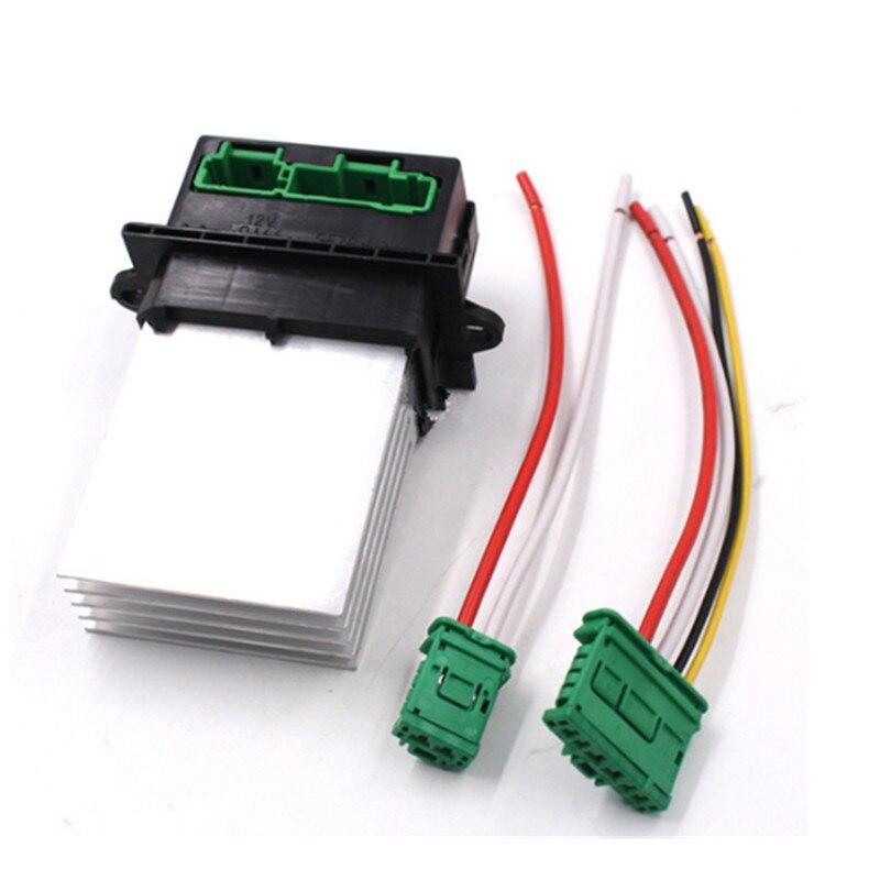 Резистор воздуходувной кондиционера/Соединитель/провод для Citroen Renault Megane Scenic Clio PEUGEOT 207 607 6441 L2 6441L2 7701048390